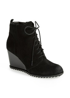 Kenneth Cole Reaction 'Storm Call' Suede Wedge Bootie (Women)