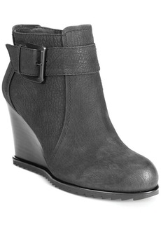 Kenneth Cole Reaction Storm Fog Ankle Wedge Booties