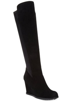 Kenneth Cole Reaction Storm Hike Tall Shaft Wedge Boots