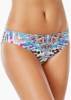 Kenneth Cole Reaction Tribal-Print Hipster Bikini Bottom Women's Swimsuit