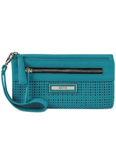 Kenneth Cole Reaction Two-In-Pouch Wristlet Wallet