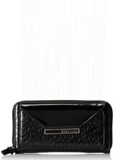 Kenneth Cole Reaction Urban Organizer Clutch Wallet, Black, One Size