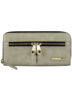 Kenneth Cole Reaction Wallet, Wooster Street Zip Around Wallet with Front Panel
