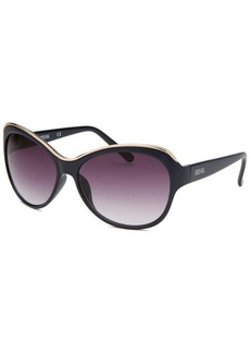 Kenneth Cole Reaction Women's Butterfly Navy Blue Sunglasses
