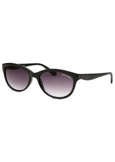 Kenneth Cole Reaction Women's Cat Eye Black Sunglasses