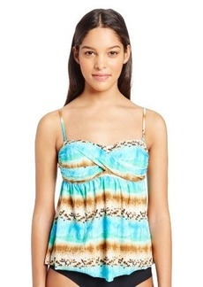 Kenneth Cole Reaction Women's Exotic Escape Faux-Twist Tankini