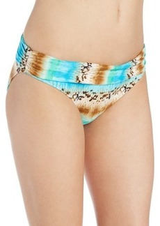 Kenneth Cole Reaction Women's Exotic Escape Sash Bikini Bottom