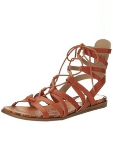 Kenneth Cole REACTION Women's Fish Net Gladiator Sandal