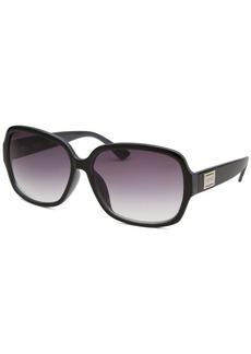 Kenneth Cole Reaction Women's Oversize Black Sunglasses
