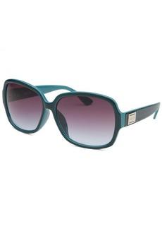 Kenneth Cole Reaction Women's Oversize Dark Teal Sunglasses