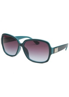 Kenneth Cole Reaction Women's Oversize Dark Teal Sunglasses