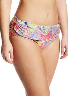 Kenneth Cole Reaction Women's Plus-Size Modern Gypsy Sash Hipster Bikini Bottom