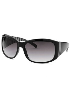 Kenneth Cole Reaction Women's Rectangle Black Sunglasses