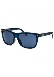 Kenneth Cole Reaction Women's Rectangle Blue Sunglasses