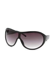 Kenneth Cole Reaction Women's Shield Black Sunglasses