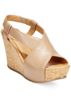 Kenneth Cole Reaction Women's Sole Cross Platform Wedge Sandals Women's Shoes