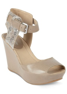Kenneth Cole Reaction Women's Sole My Heart Platform Wedge Sandals