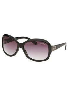 Kenneth Cole Reaction Women's Square Black Sunglasses