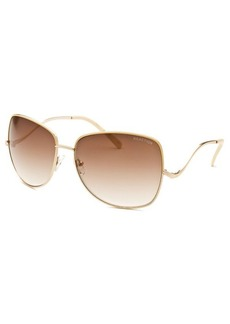 Kenneth Cole Reaction Women's Square Gold Sunglasses