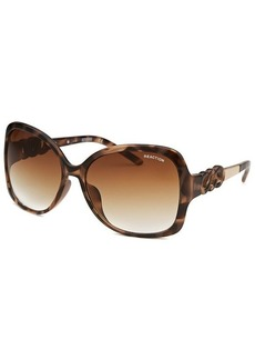 Kenneth Cole Reaction Women's Square Havana Sunglasses