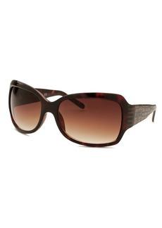 Kenneth Cole Reaction Women's Square Havana Sunglasses