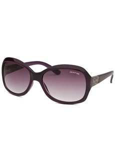 Kenneth Cole Reaction Women's Square Purple Sunglasses