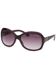 Kenneth Cole Reaction Women's Square Purple Sunglasses