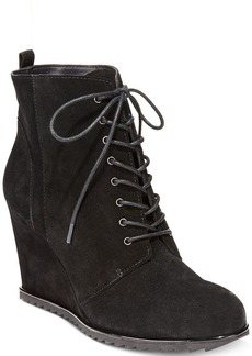 Kenneth Cole Reaction Women's Storm Call Ankle Wedge Booties