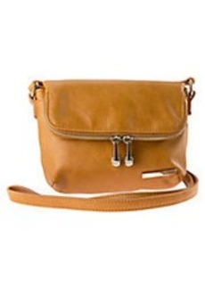 KENNETH COLE REACTION Wooster Street Leather Foldover Crossbody Bag