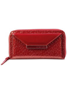 Kenneth Cole Reaction Zip Around Flap Clutch Wallet