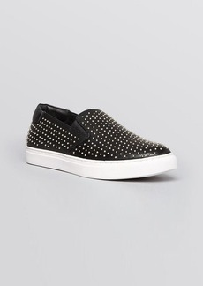 Kenneth Cole Slip On Hidden Wedge Sneakers - King3 Studded