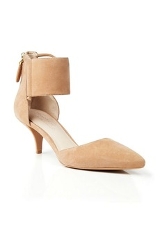 Kenneth Cole Suede Ankle Cuff Pumps - Paddy