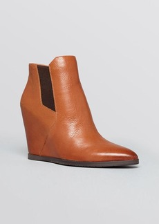 Kenneth Cole Wedge Booties - Sloane Gored Ankle