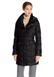 Kenneth Cole Women's Quilted Down Coat
