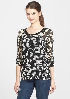 kensie 'Animal Spots' Sweater