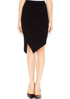 kensie Asymmetrical Ponte Pencil Skirt, A Macy's Exclusive Style