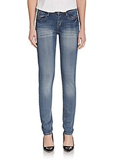 Kensie Bleached Skinny Denim Jeans
