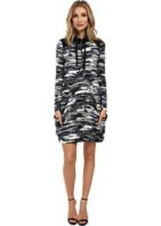 kensie Blurry Stripe Dress