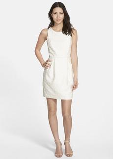 kensie Brocade Sheath Dress