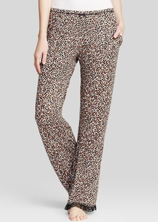 Kensie Chai Animal Print Pajama Pants