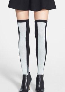 kensie Colorblock Over the Knee Socks
