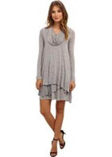 kensie Cowl Neck Dress