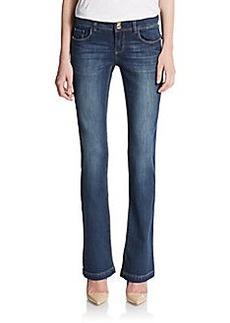 Kensie Curvy Bootcut Jeans