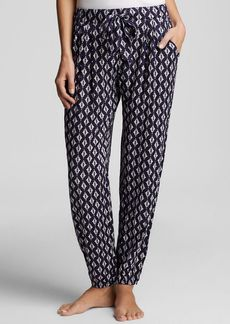 Kensie Denim Geo Pajama Pants
