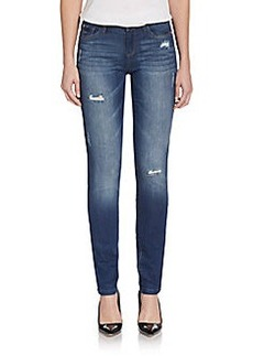 Kensie Destructed Skinny Jeans