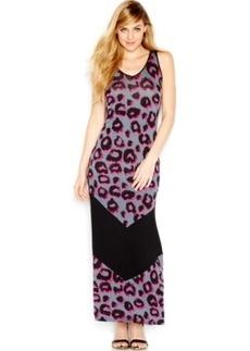 Kensie Dotty Animal-Print Dress