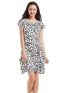 Kensie® Drapey French Terry Dress