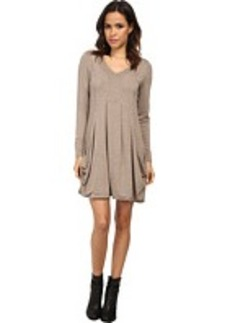kensie Drapey French Terry Dress