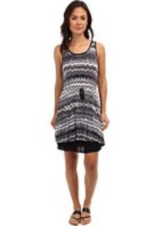 kensie Drippy Stripes Dress KS6K9S94