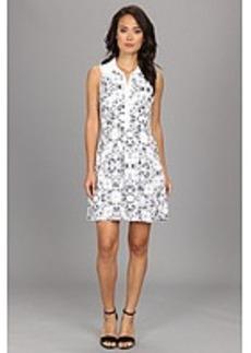 kensie Etched Kaleidoscope Dress